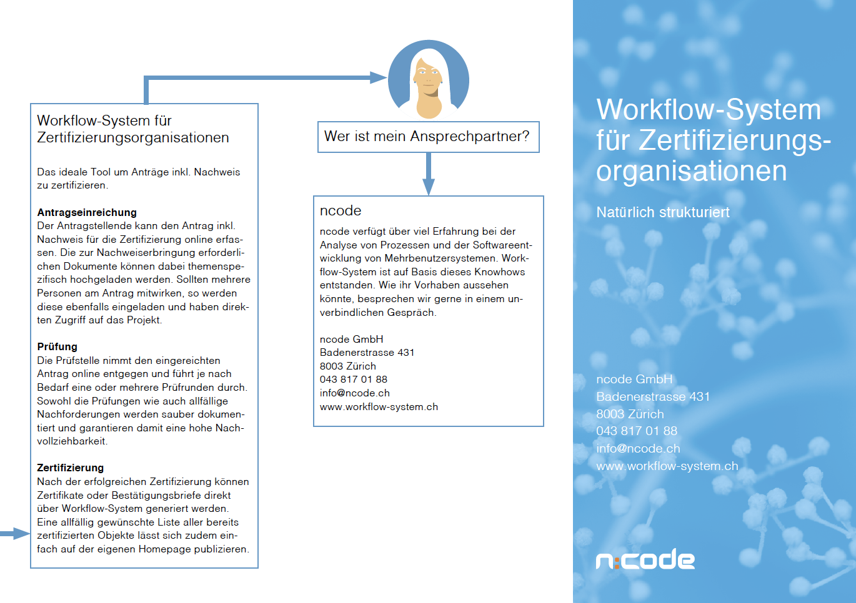 Flyer für Zertifizierungen (PDF)